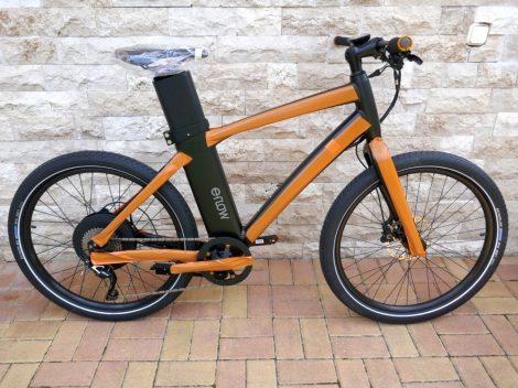 EFLOW ER-5 s-pedelec electric bicycle 45 km / h