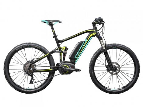 Gepida Asgard 1000 FS Race XT 10 2018-as MTB 650B Performance CX E-Bike