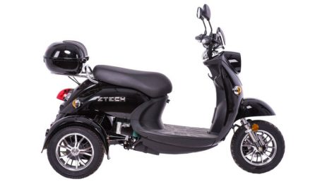 Ztech ZT-63 The electric three-wheeled scooter can be driven without a certificate