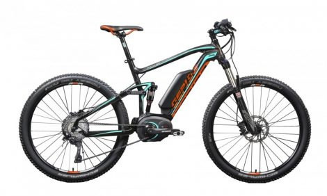 Gepida Asgard 1000 FS Pro XT 11 2018-as MTB Performance CX E-Bike