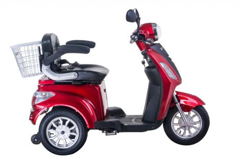 Ztech ZT-15 E Trilux Electric Tricycle Magnetic Motor Brake