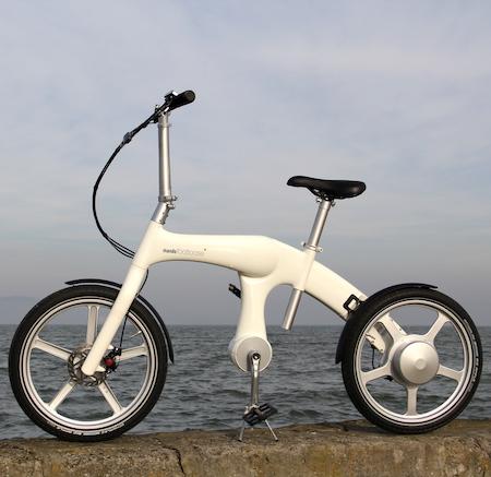 Mando Footloose Es gibt ein Elektroauto zwei Rädern 36V, 250W full weiss