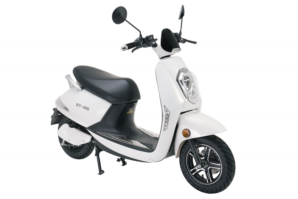 ztech zt 25 berlin electric scooter 1200w bosch engine. Black Bedroom Furniture Sets. Home Design Ideas