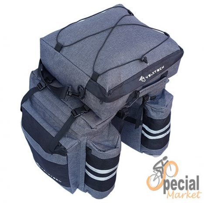Velotech three-piece hiking bag