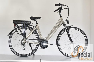 """Neuzer Hollandia Optima Deluxe 28"""" 7 speed E-bike"""