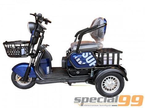 Polymobil E-MOB 09 elektromos háromkerekű robogó tricikli