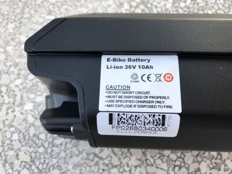 Lithium-Ion battery electric bicycle eCity 36 V 10 Ah