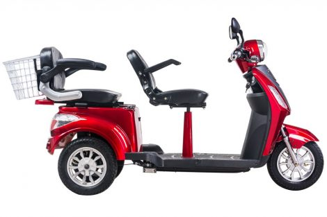 Ztech ZT-18 Trilux two-wheel electric tricycle