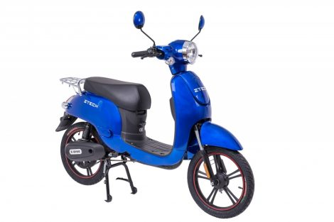 Ztech ZT-20 The Defender electric bike can be driven without a license