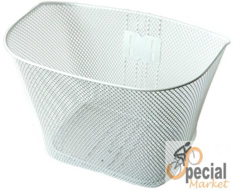 Basket metal pre-assembled on white